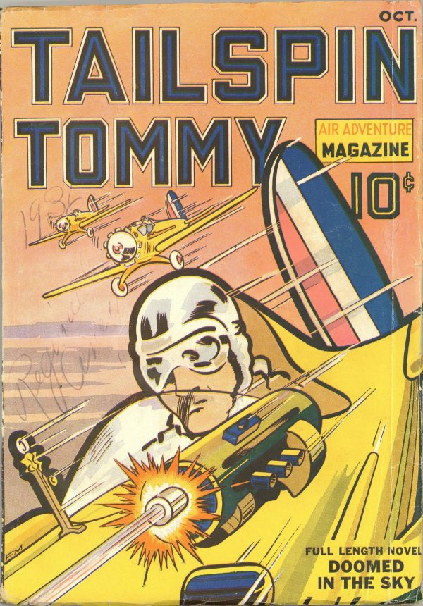 Tailspin Tommy Air Adventure Magazine October 1936