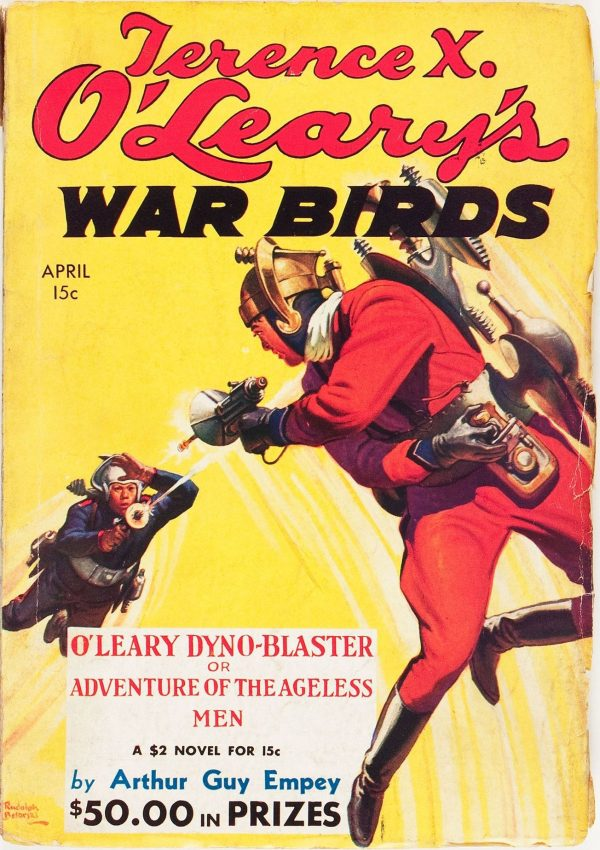 Terence X. O'Leary's War Birds April 1935