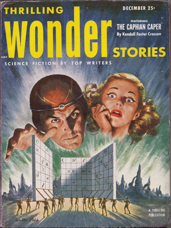 Thrilling Wonder Stories December 1952
