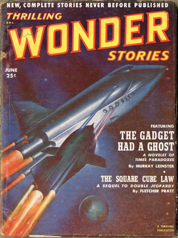 Thrilling Wonder Stories, June 1952-2