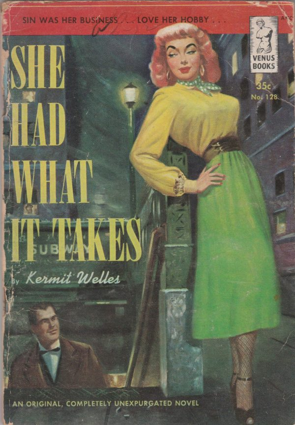 Venus Books - No 128 - Kermit Welles - 1951