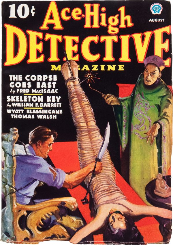Ace-High Detective Magazine V1#1 August 1936