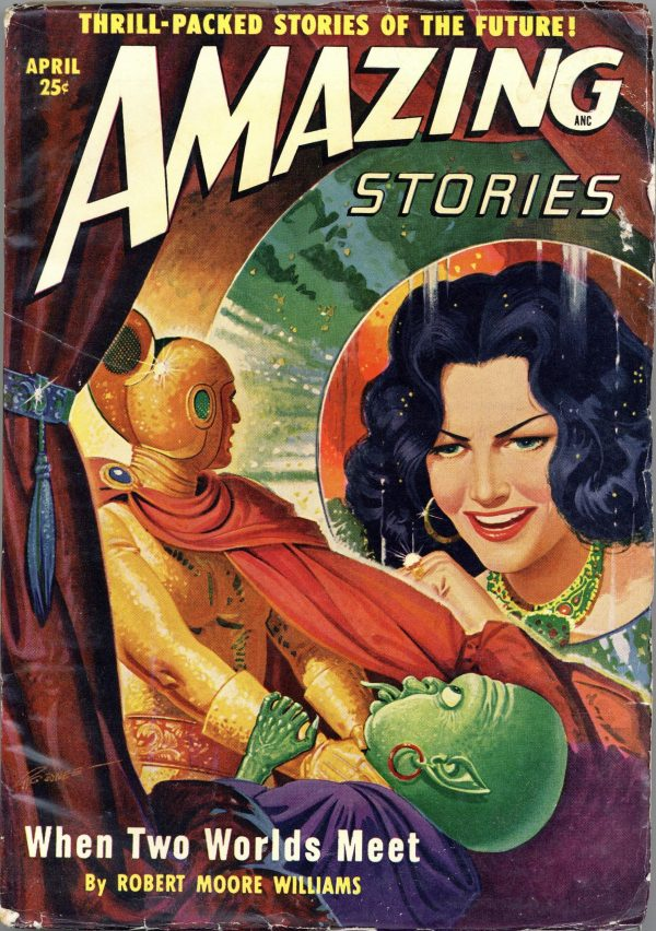Amazing Stories April 1950