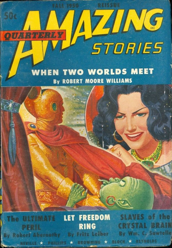 Amazing Stories Quarterly Reissue, Fall 1950