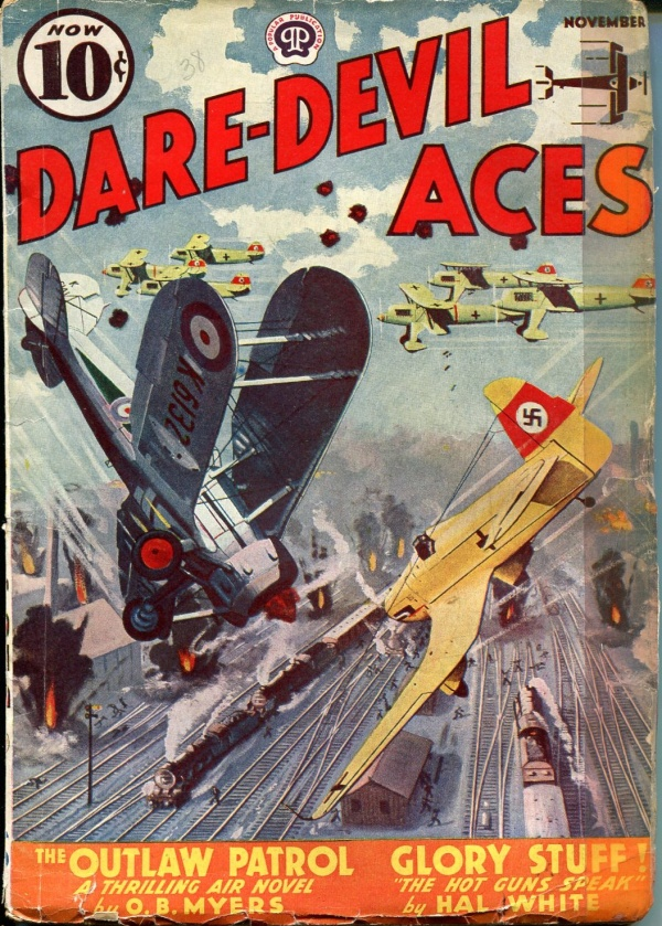 Dare-Devil Aces November 1938