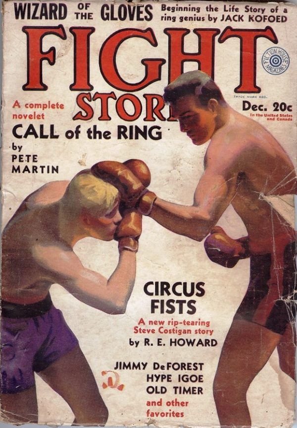 December 1931 Fight Stories