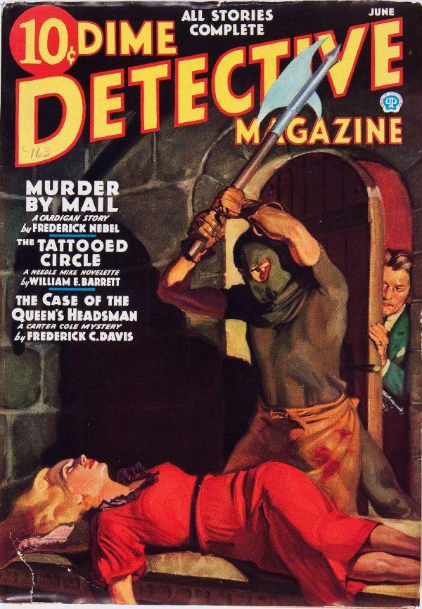 Dime Detective Magazine June 1936