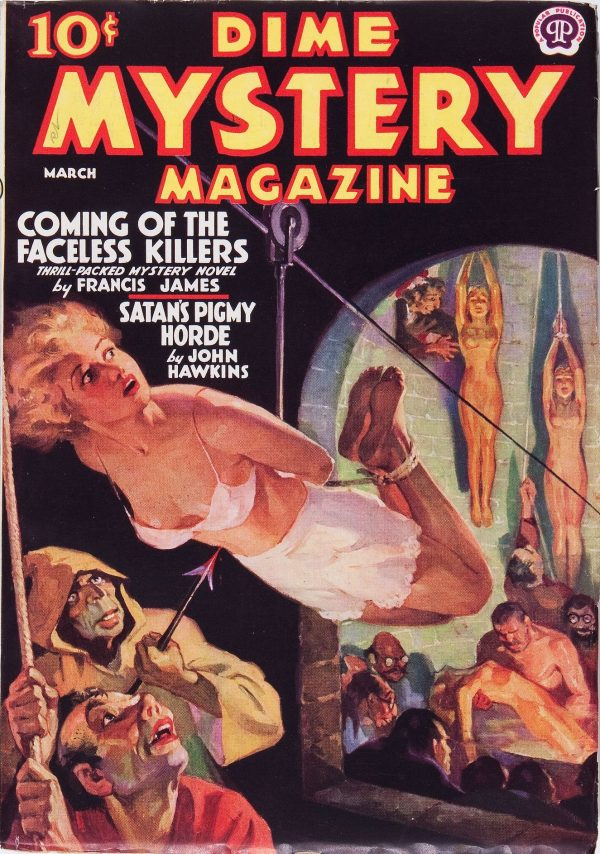Dime Mystery Magazine - March 1938