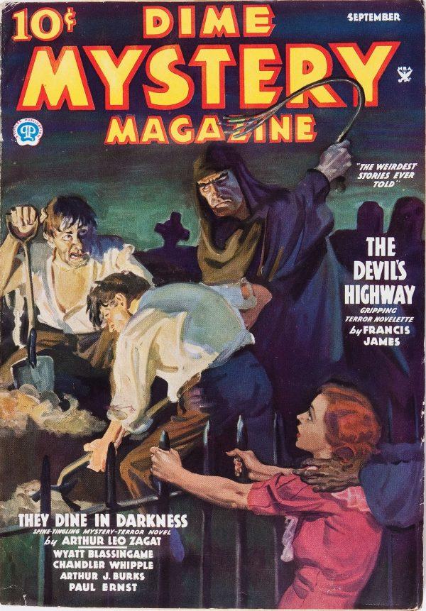 Dime Mystery Magazine - September 1935