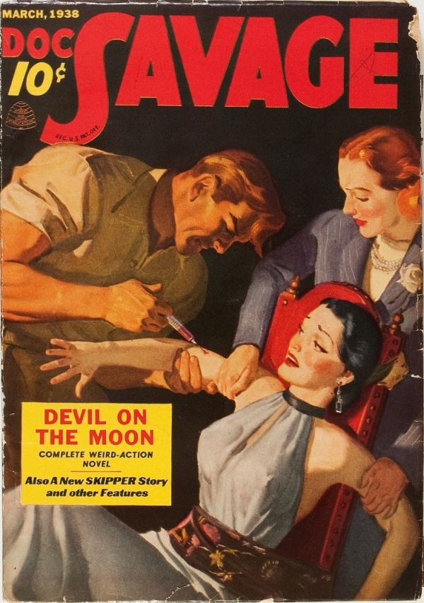 Doc Savage - March 1938