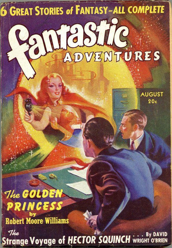Fantastic Adventures August 1940