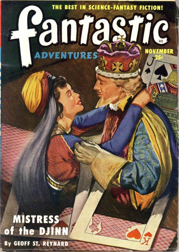 Fantastic Adventures November 1950