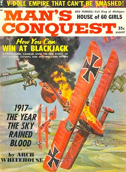 Man's Conquest, August 1961
