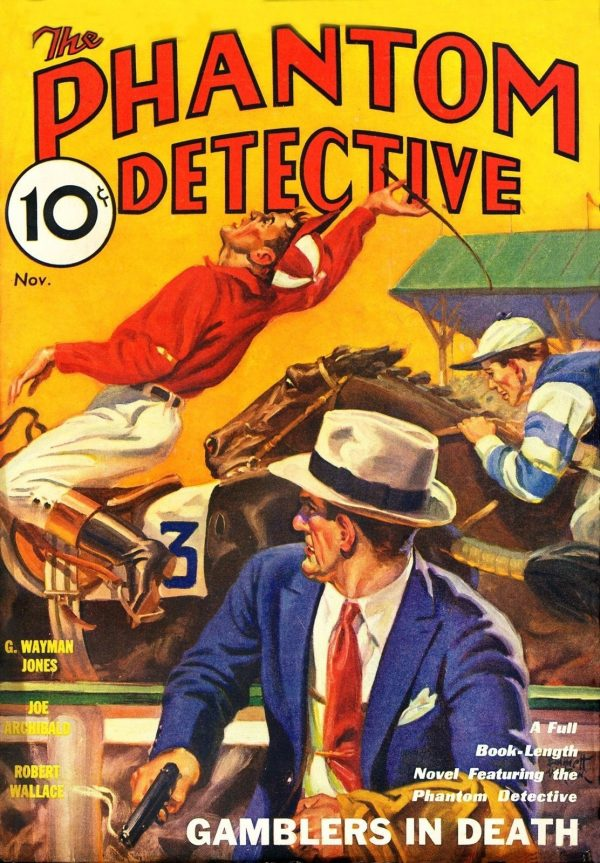 Phantom Detective November 1933