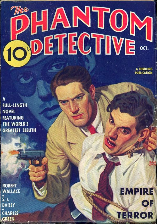 Phantom Detective V16 #3 October 1936