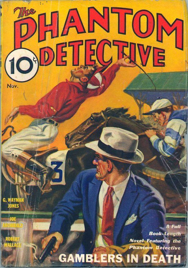 Phantom Detective V3 #3 November 1933