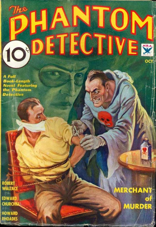 Phantom Detective V7 #2 October 1934