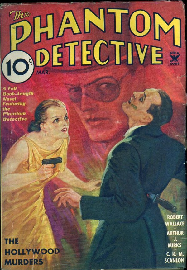Phantom Detective V9 #2 March 1935