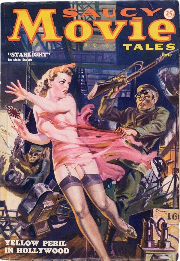 Saucy Movie Tales - June 1936