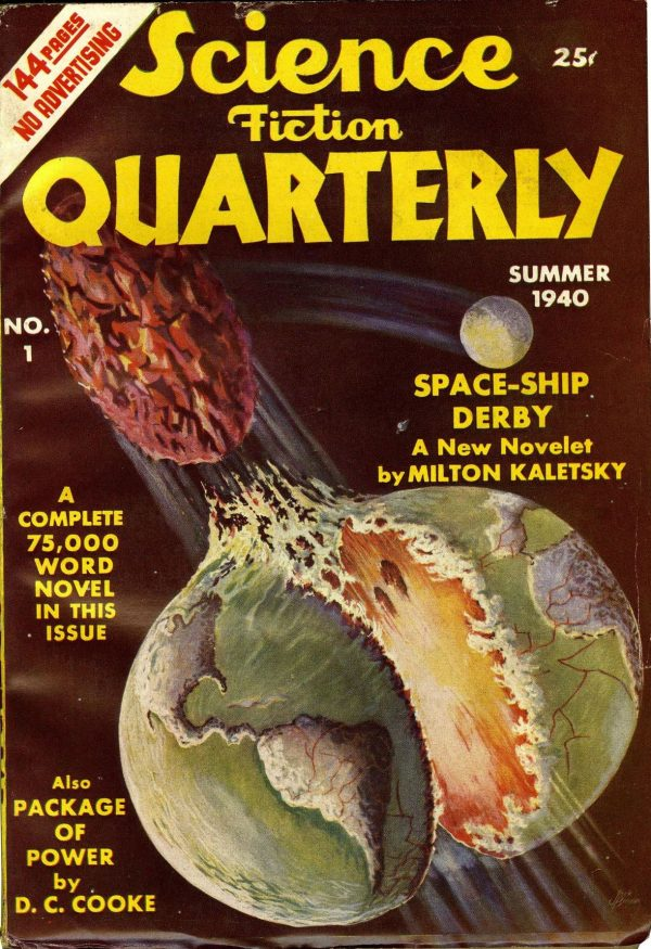 Science Fiction Quarterly Summer 1940