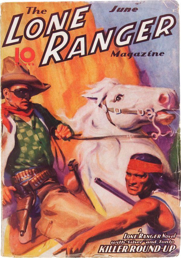 The Lone Ranger Magazine #3 Killer Round-Up (Jun 1937)