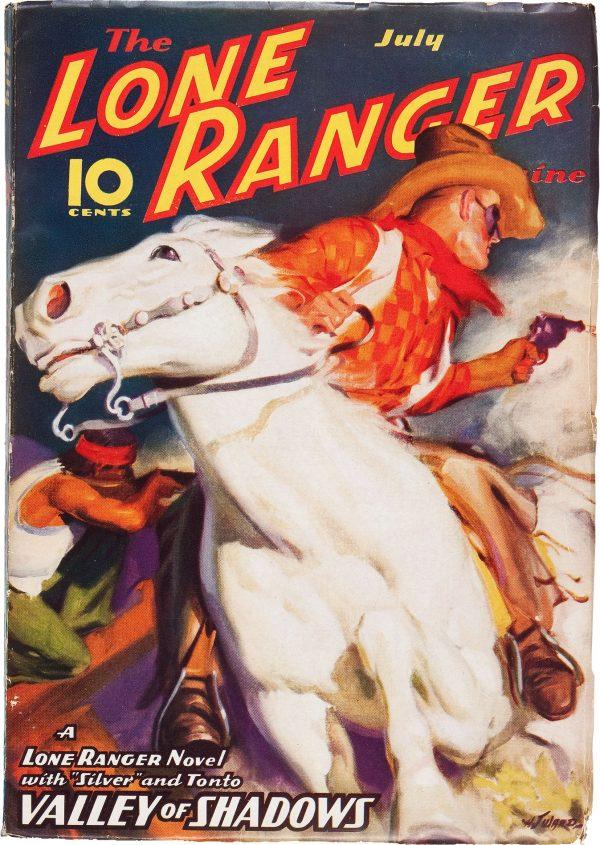 The Lone Ranger Magazine #4 Valley of Shadows (Jul 1937)