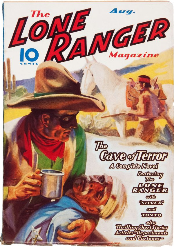 The Lone Ranger Magazine #5 The Cave of Terror (Aug 1937)