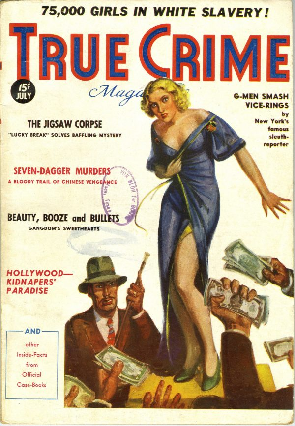 True Crime Magazine July 1936
