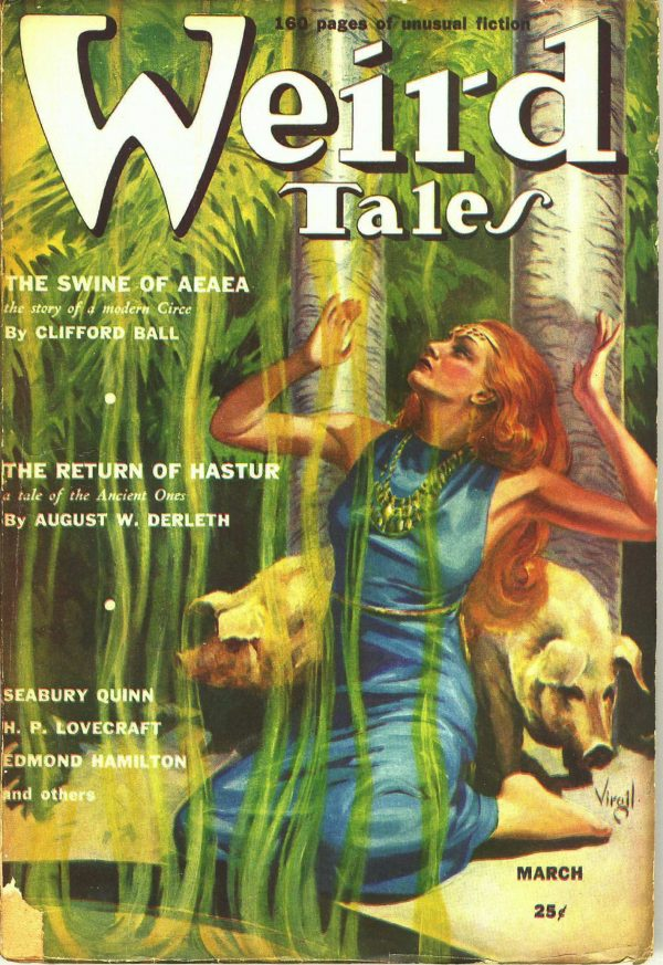 Weird Tales March 1939
