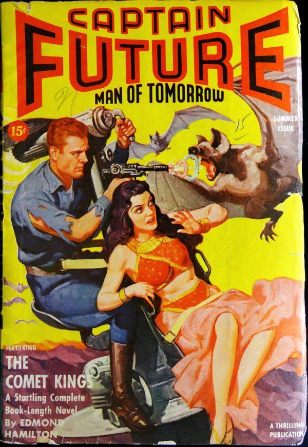 Captain Future Vol. 4, No. 2 (Summer 1942).
