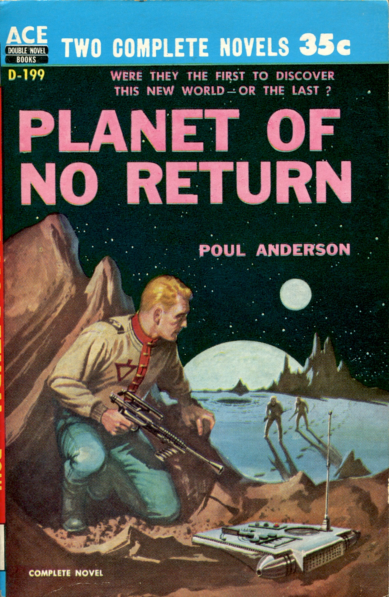 Image result for planet of no return pulp