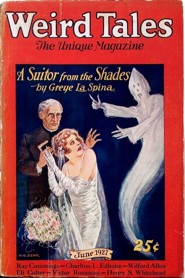 A Suitor From The Shades Weird Tales June 1927