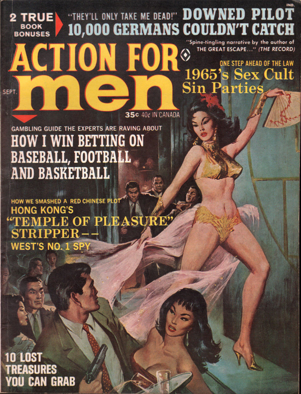 Action For Men September 1965