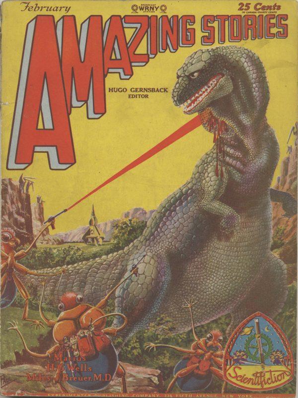 Amazing Stories February 1929