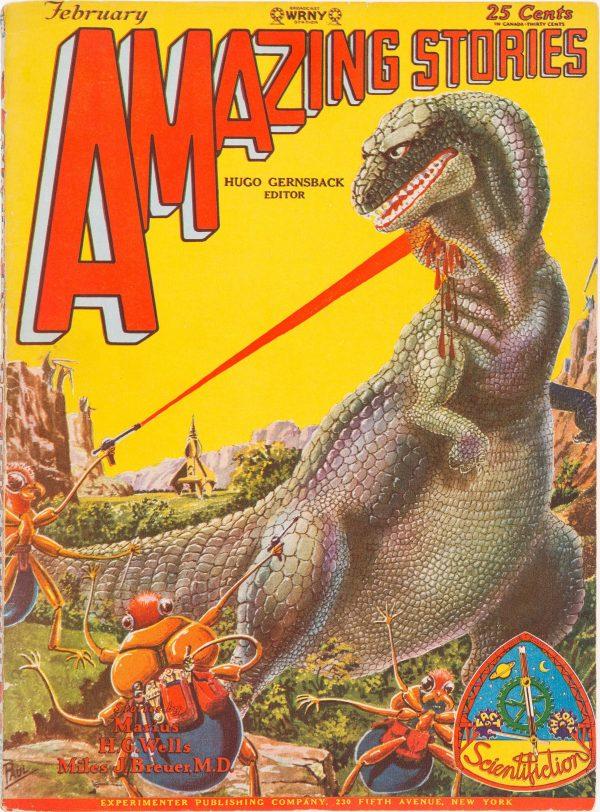 Amazing Stories - February 1929