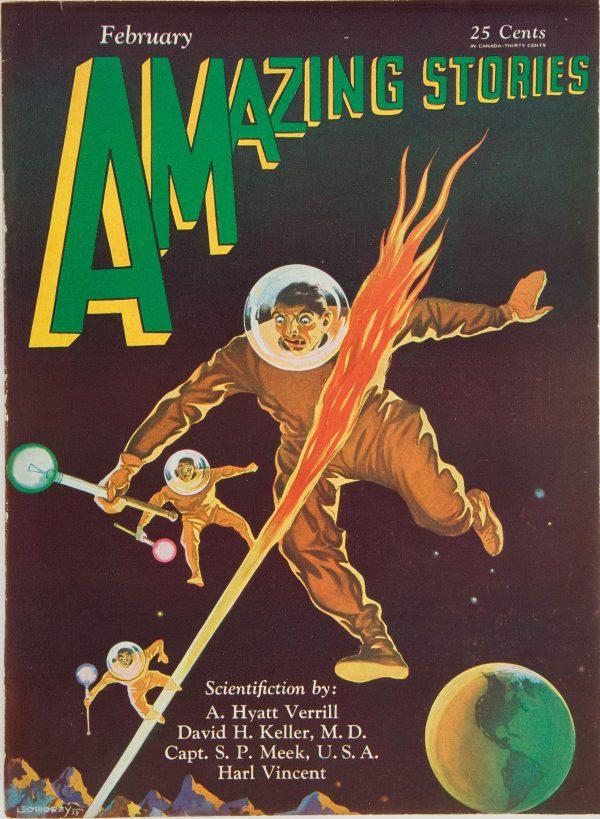 Amazing Stories, February 1930
