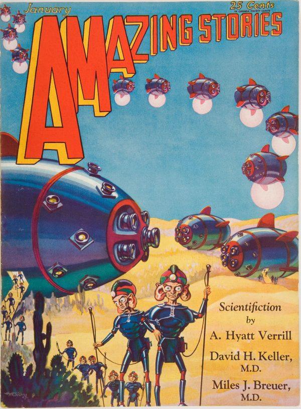 Amazing Stories, January 1930