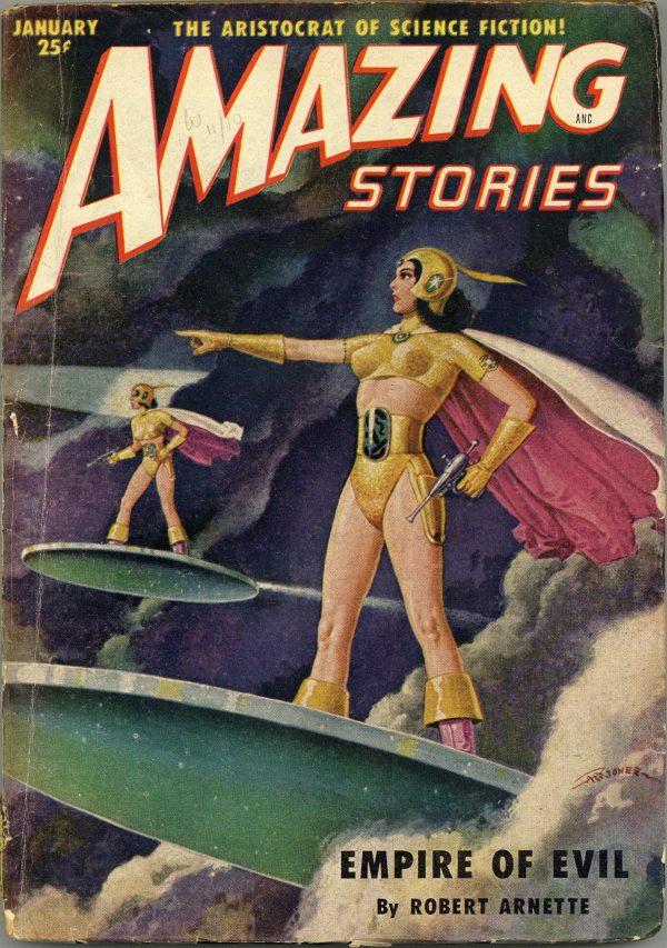 Amazing Stories January 1951