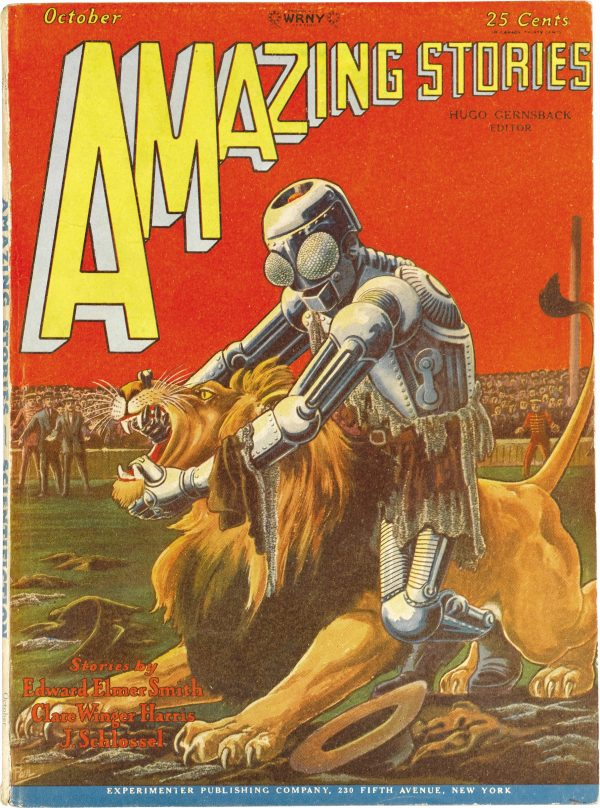 Amazing Stories, October 1928