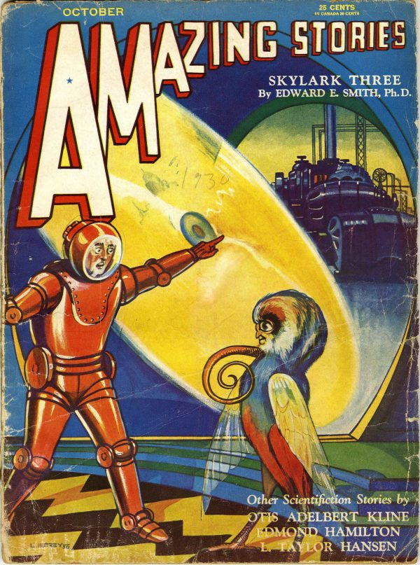 Amazing Stories, October 1930