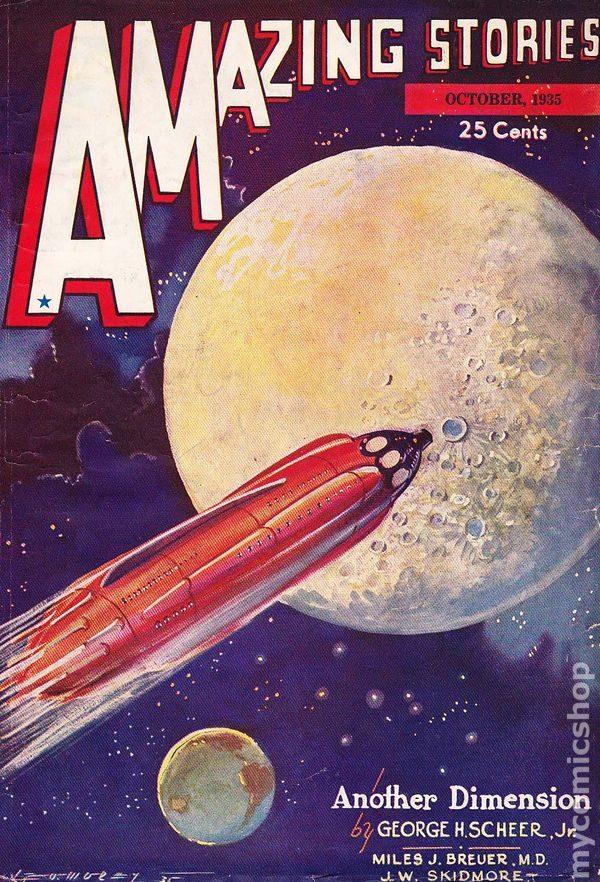 Amazing Stories October 1935