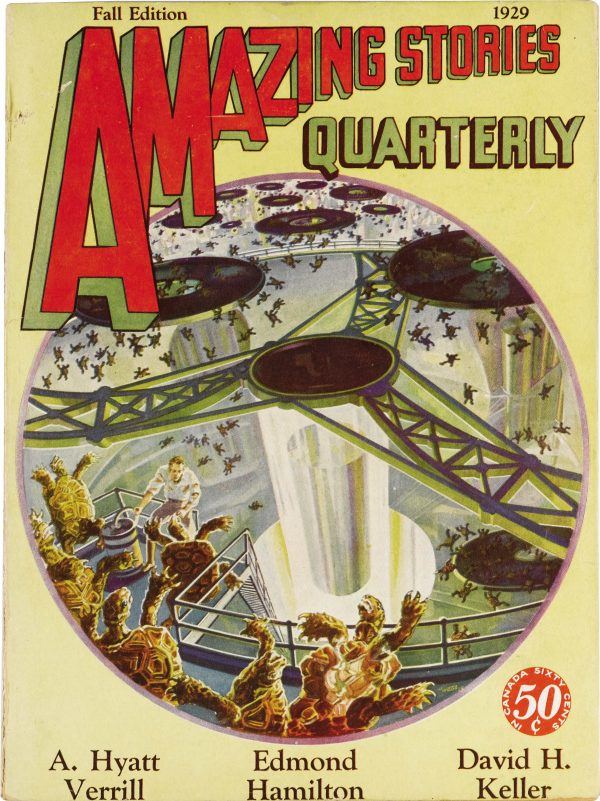 Amazing Stories Quarterly, Fall 1929