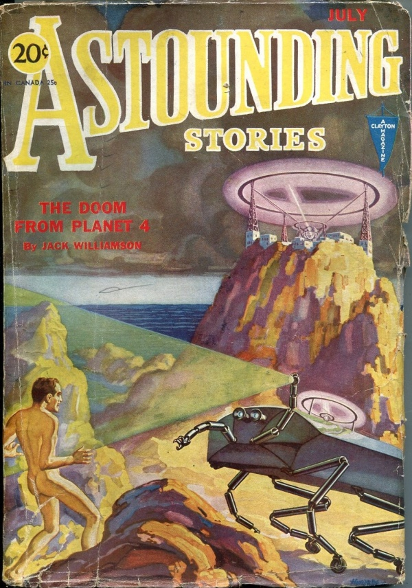 Astounding Stories July 1931
