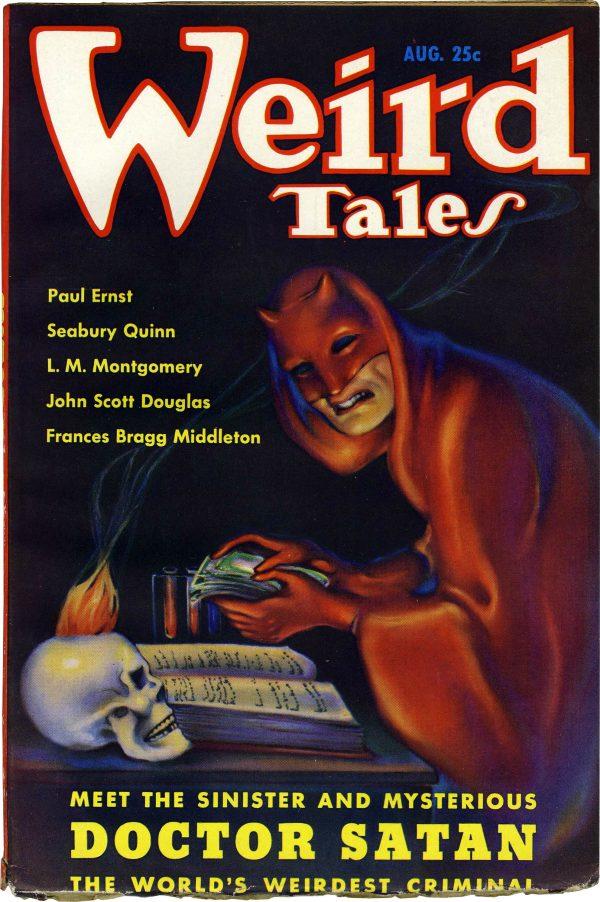 August 1935 Weird Tales