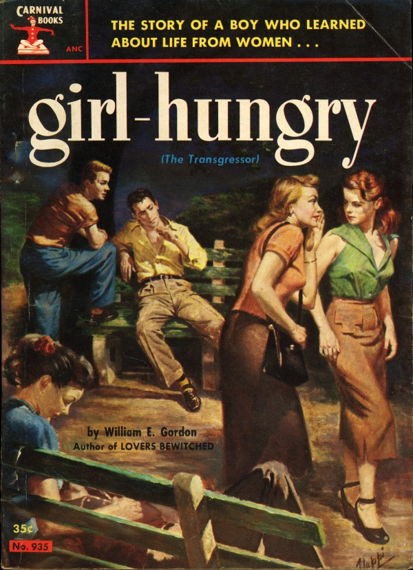 Carnival Books 935 - William E. Gordon - Girl-Hungry