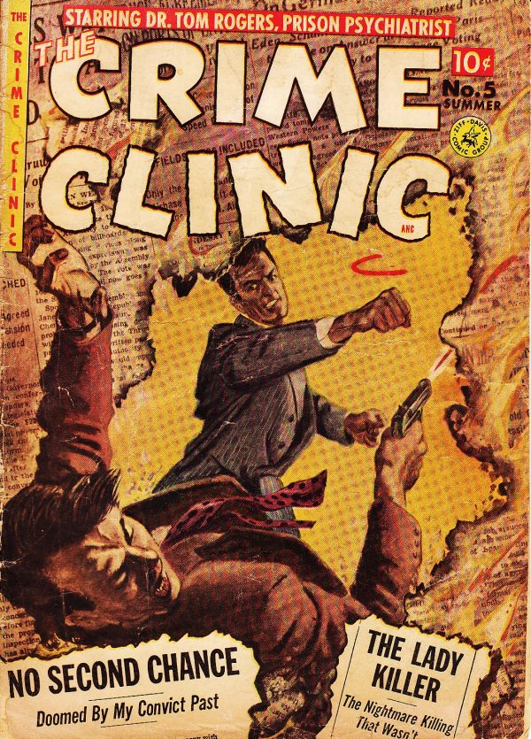 Crime Clinic 5 Cover
