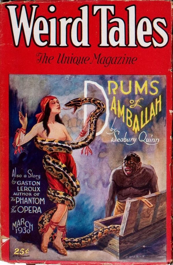 Weird Tales March 1930