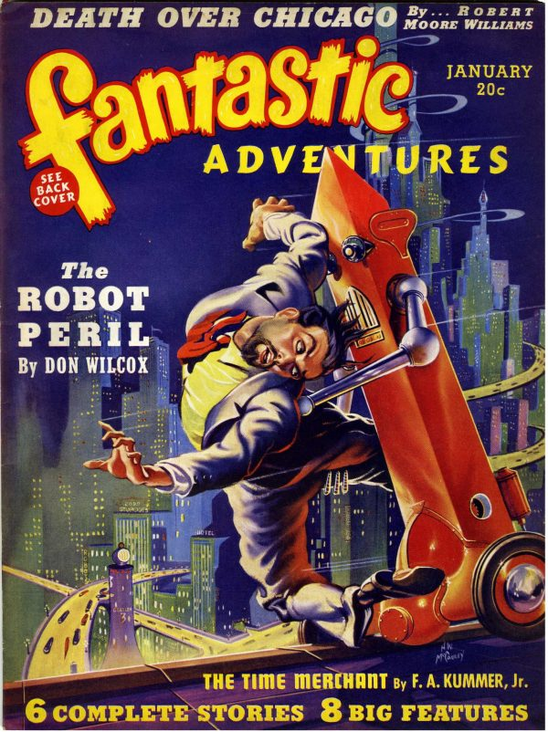 Fantastic Adventures, January 1940