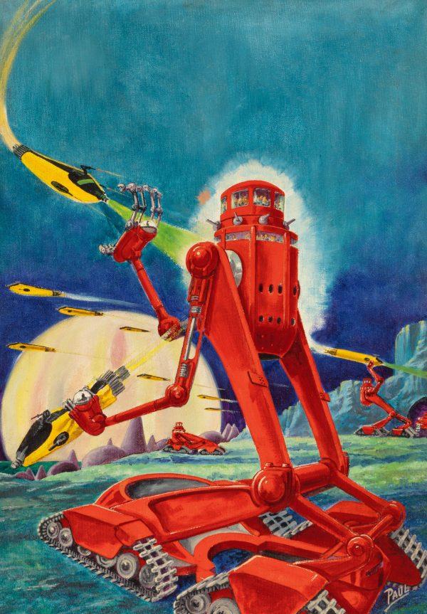 Future Fiction cover, November 1940
