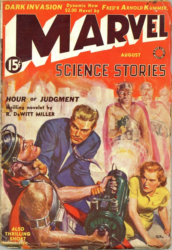 Marvel Science Stories, August 1939